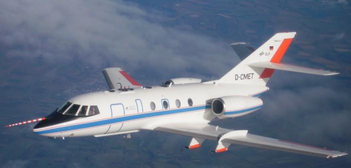 40 Jahre DLR-Falcon: Ein Forschungsflugzeug hat Geburtstag