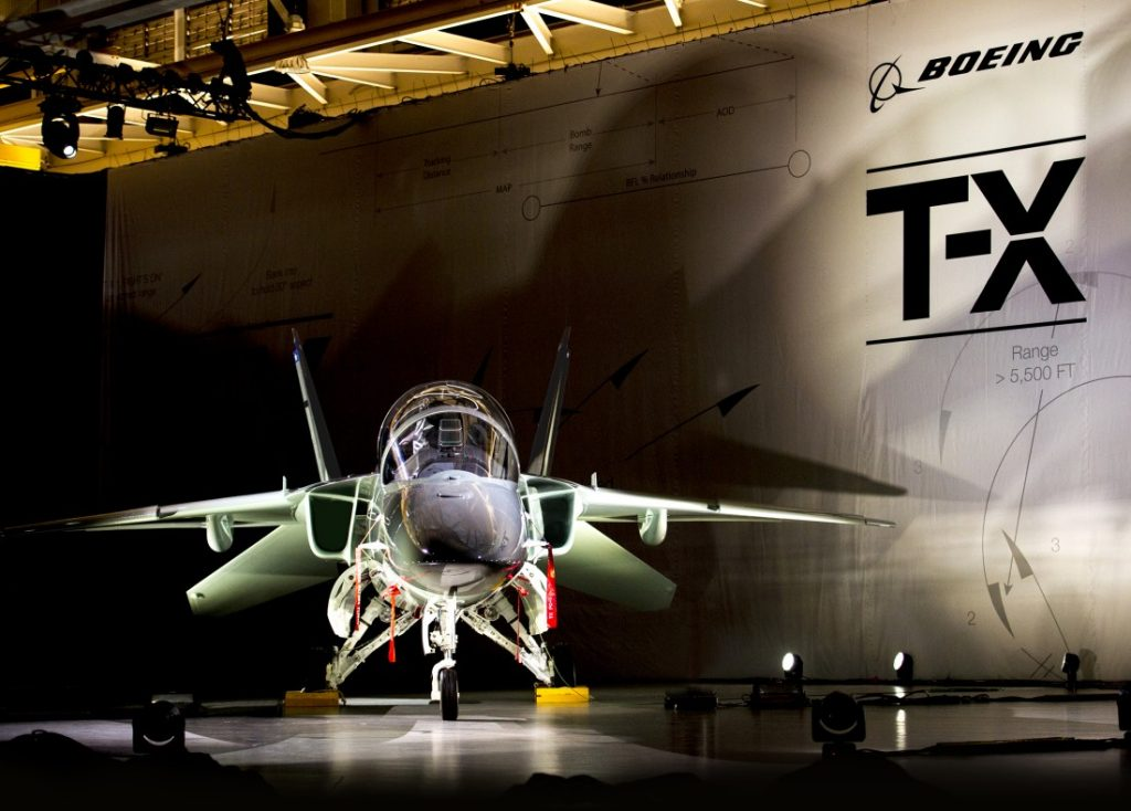 Mit der T-X bewerben sich Boeing und Saab um den Auftrag für einen neuen Fortgeschrittenen-Trainer der US-Luftwaffe. (#02)