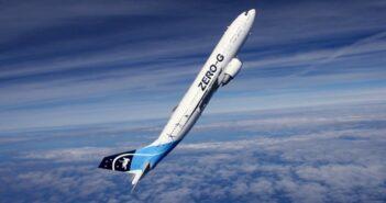 Zero G Airbus A300 der ESA