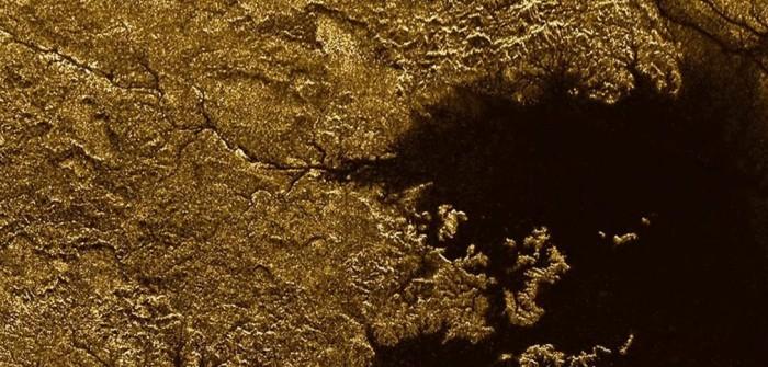 "Sonde ""Cassini"": Flußsystem auf dem Saturnmond Titan"