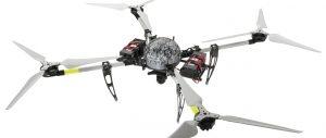 """Die Multirotor-Drohne """"MULTIROTOR G4 Recon One"""" kann militärische Überwachungsaufgaben erfüllen. Ähnliche Geräte sind bereits im Einsatz, wenn auch nicht bei der Bundeswehr. (#08)"""