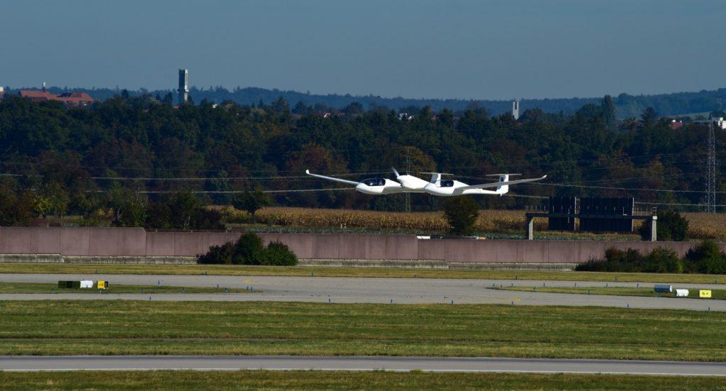 Start des Brennstoffzellen-Flugzeugs HY 4 am 26. September 2017. (#2)