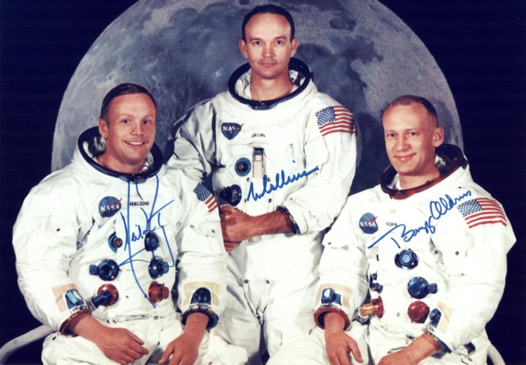 Neil Armstrong Und Edwin Aldrin