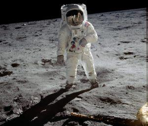 Neil Armstrong schoss dieses Foto von seinem Teamkameraden Edwin 'Buzz' Aldrin. (#2)