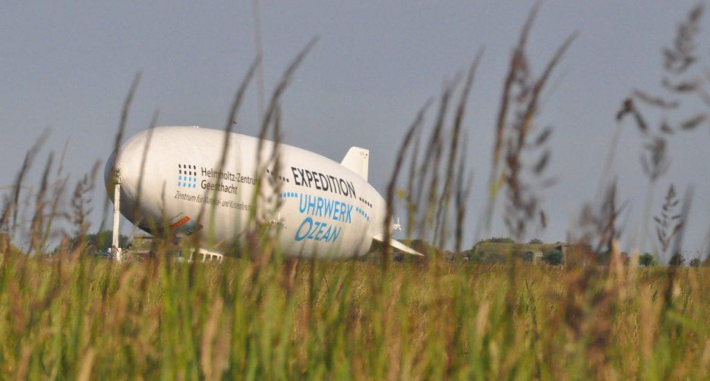 Der Zeppelin NT wartet auf seinen nächsten Einsatz. (#6)