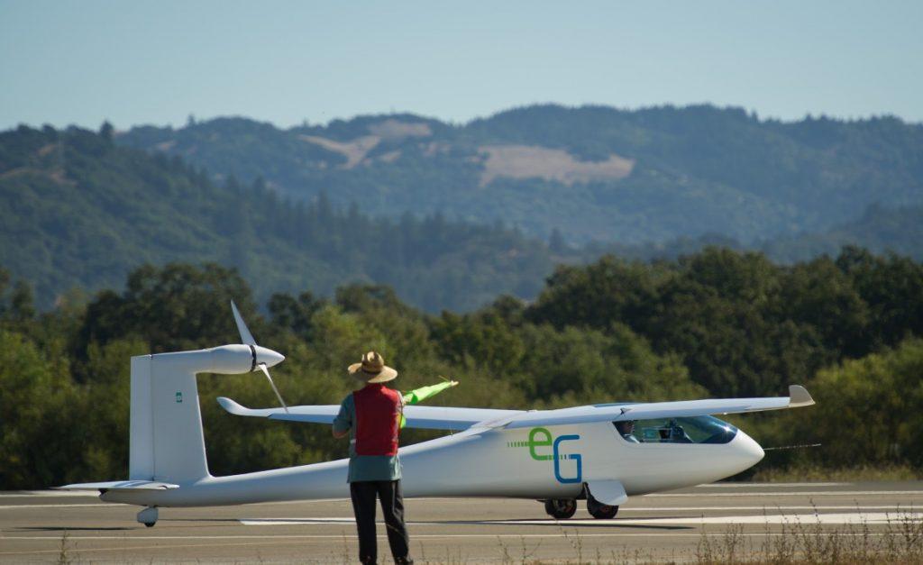 """Die """"E-Genius"""" nahm 2011 an der 'Green Flight Challenge' an der US-amerikanischen Westküste teil. (#3)"""