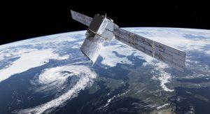 """Der """"Aeolus""""-Satellit soll Windsysteme aus der Erdumlaufbahn erfassen. (#12)"""