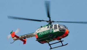 Viele Länderpolizeien nutzten die Bo-105 in ihren Hubschrauberstaffeln. (#6)