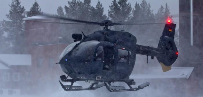 Härtetest in Nordschweden: H145-Hubschrauber der Luftwaffe üben im Hohen Norden