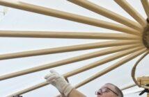 Otto Lilienthal: DLR und Lilienthal-Museum testeten Nachbau des Lilienthal-Gleiters