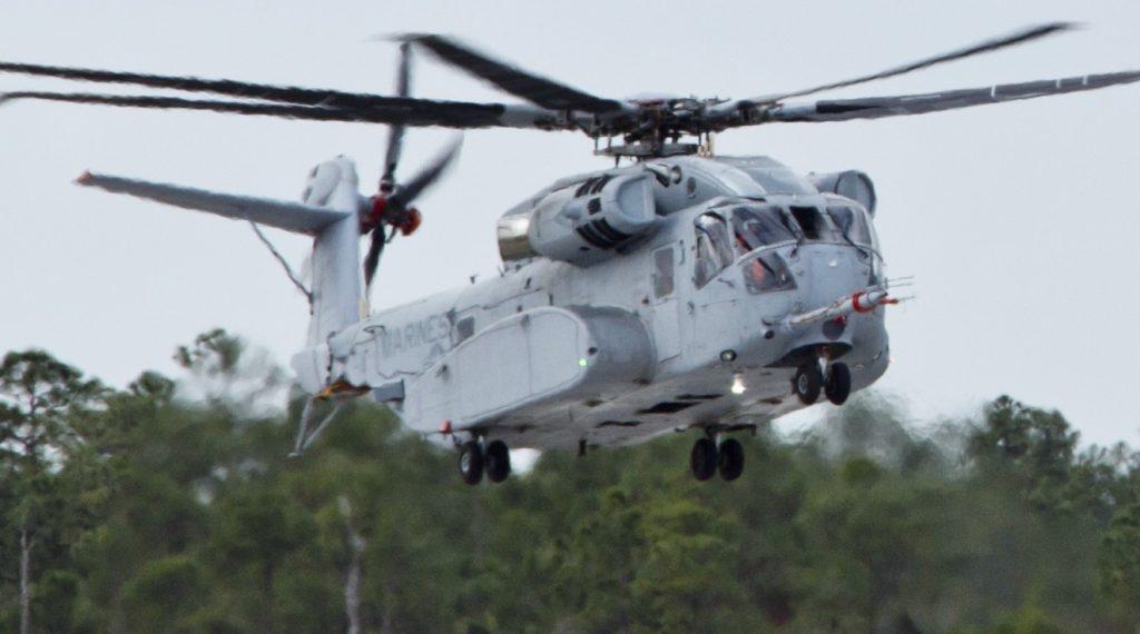 Eine der ersten CH-53K-Maschinen landet auf dem Flugplatz der Sikorsky Aircraft Corporation in Jupiter/Florida.  (#4)