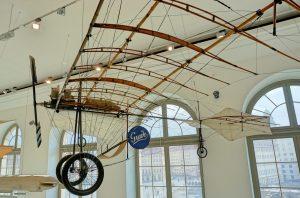 Besucher des Verkehrsmuseums in Dresden können sich auf einen Nachbau des Grade-Eindeckers freuen.  (#3)
