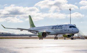 Die CS300 bietet je nach Bestuhlung Platz für bis zu 160 Passagiere. (#6)