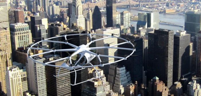 Volocopter von E-Volo hebt in Dubai ab