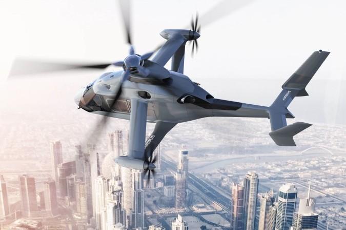 """""""Racer"""" verbindet die Fähigkeiten eines Hubschraubers mit der Geschwindigkeit eines Propellerflugzeugs. """"Racer"""" verbindet die Fähigkeiten eines Hubschraubers mit der Geschwindigkeit eines Propellerflugzeugs."""