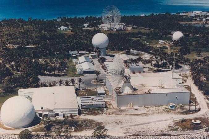 Diese Beobachtungsstation im Kwajalein-Atoll im Pazifik gehört zum NASA-Netz, mit dem die US-Raumfahrtbehörde Satelliten und Weltraumtrümmer verfolgt. (#9)