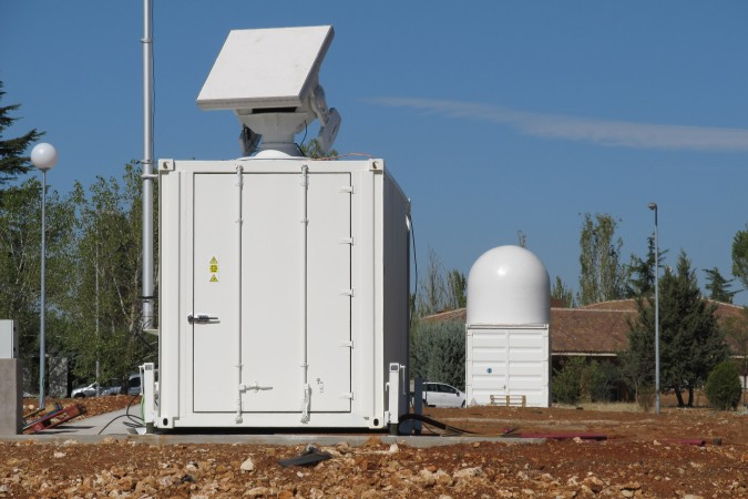 ESA-Radar zur Beobachtung von Weltraumschrott in Spanien. (#1)
