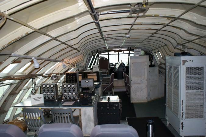 """Das Cockpit der Hughes H-4 """"Spruce Goose"""". (#3)"""