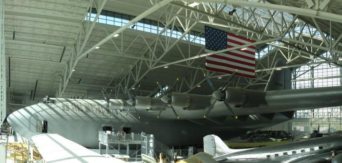 """Hughes H-4 """"Hercules"""": Howard Hughes baute das größte Flugboot der Welt"""