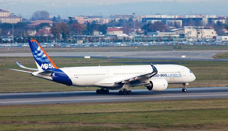 Ende des Jahres 2016 war dann der Erstflug des Airbus A350-1000 geplant. (#02)