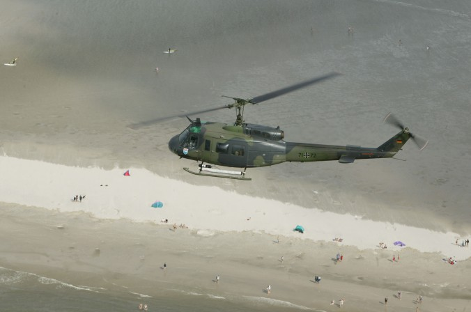 Die Hubschrauberstaffel des LTG 63 war als einziger Hubschrauberverband der Luftwaffe für die Seefliegerei zertifiziert. (#1)