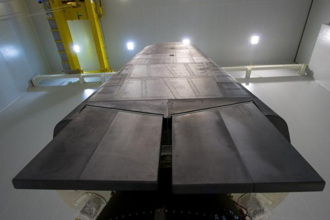 Experimental-Raumgleiter IXV von Kourou aus. Es war gleichzeitig der vierte Start der neuen Vega-Rakete. (#3)