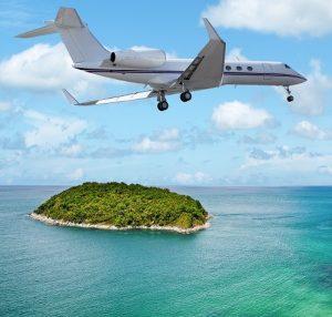 Die Preise sind von der Strecke abhängig und vom gewählten Flugzeugtyp. (#04)