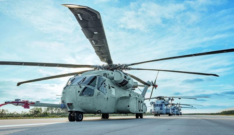 MTU Aero Engines ist mit 18 Prozent an der Produktion der Triebwerke für die Sikorsky CH-53K beteiligt. (#01)