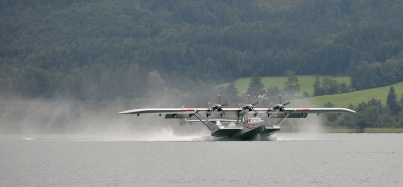 Wasserung der runderneuerten Do 24ATT von Iren Dornier. (#04)