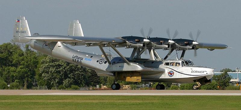 In der Vergangenheit war die Do 24ATT ein gern gesehener Gast auf Airshows. Hier ist sie 2005 im US-amerikanischen Oshkosh zu sehen. (#05