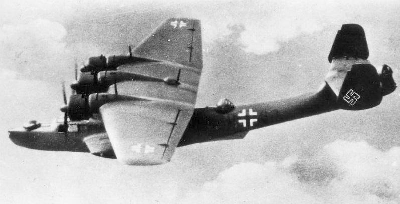 Die deutsche Luftwaffe setzte die Do 24 zur Seenotrettung und als Fernaufklärer ein. (#02