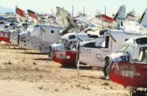 Flugzeugfriedhof: Wo ausrangierte Flieger landen