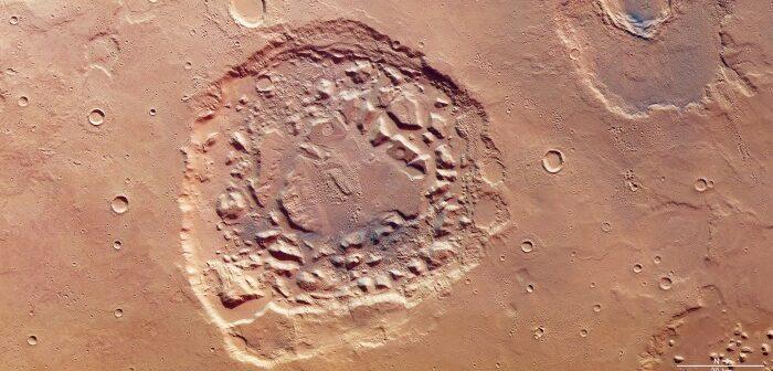 """Die """"Mars Express""""-Sonde: Software-Upgrade und Bilder eines Super-Vulkans"""