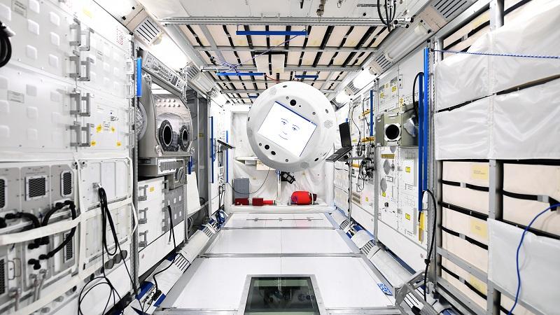 CIMON ist ein deutsches Projekt für einen Robot-Assistenten zur Unterstützung der Raumfahrer auf der ISS. (#01)