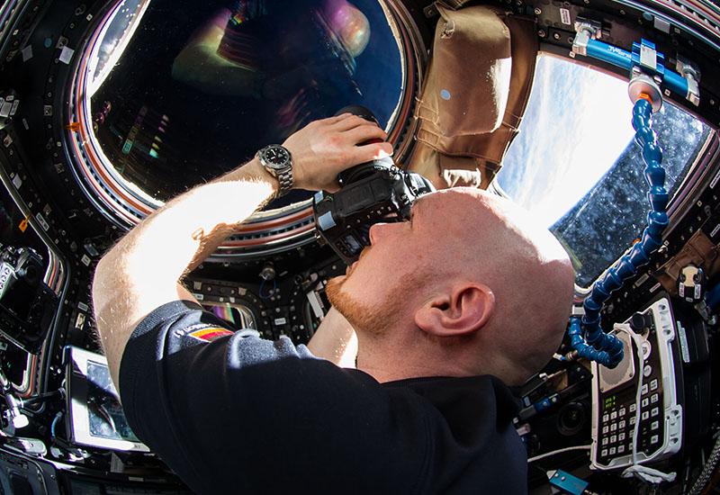 Während seinem Aufenthalt auf der ISS von 2014 fotografierte Alexander Gerst immer wieder die Erde. (#2)