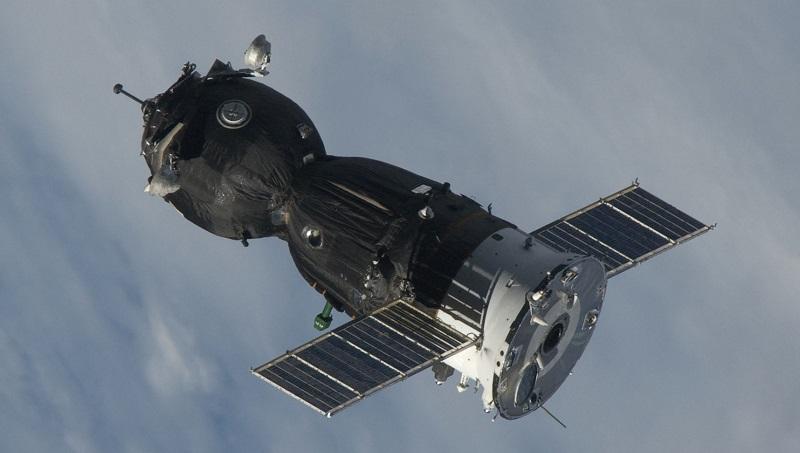 : Seit Jahrzehnten das Rückgrat der bemannten Raumfahrt: Die noch von der Sowjetunion entwickelten Sojus-Raumschiffe. (#07)