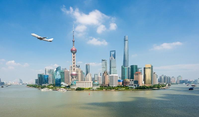 Bald auch über der Skyline von Shanghai: Chinas Passagierflugzeug C 919. (#2)