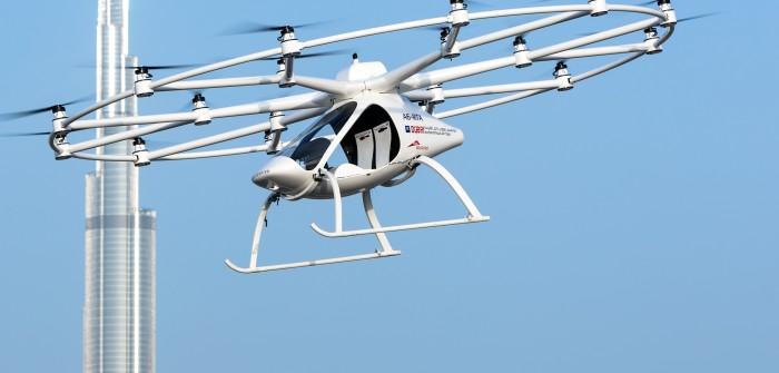 Erfolg für Start-Up: Volocopter testet Lufttaxis in Singapur