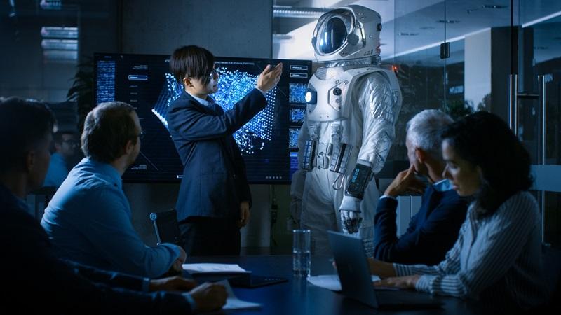 Der Studiengang Luft- und Raumfahrttechnik hat sehr ähnliche Inhalte wie dieser Ausbildungsberuf.