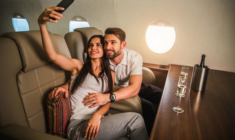 Wenn Sie ein Privatjet chartern, möchten Sie den vollen Luxus genießen? Dann ist der VIP Airliner die passende Lösung.  (Foto: Shutterstock- oneinchpunch )