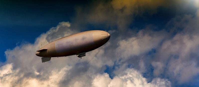Schon seit ihrer Erfindung sind Luftschiffe immer wieder ein Phänomen. ( Foto: Shutterstock-_John-Fs-Pic )